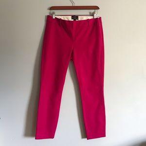 J. Crew Minnie Crop Pants—Pink